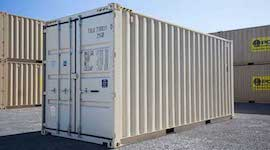 20 ft high cube container
