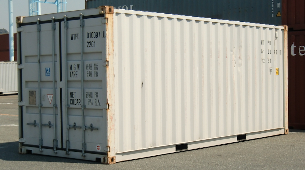 20 ft steel containers
