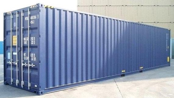 40 ft steel containers