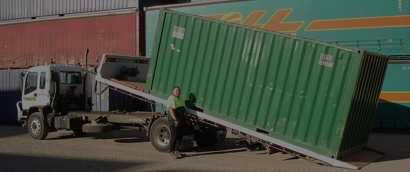 shipping container delivery, steel storage container delivery
