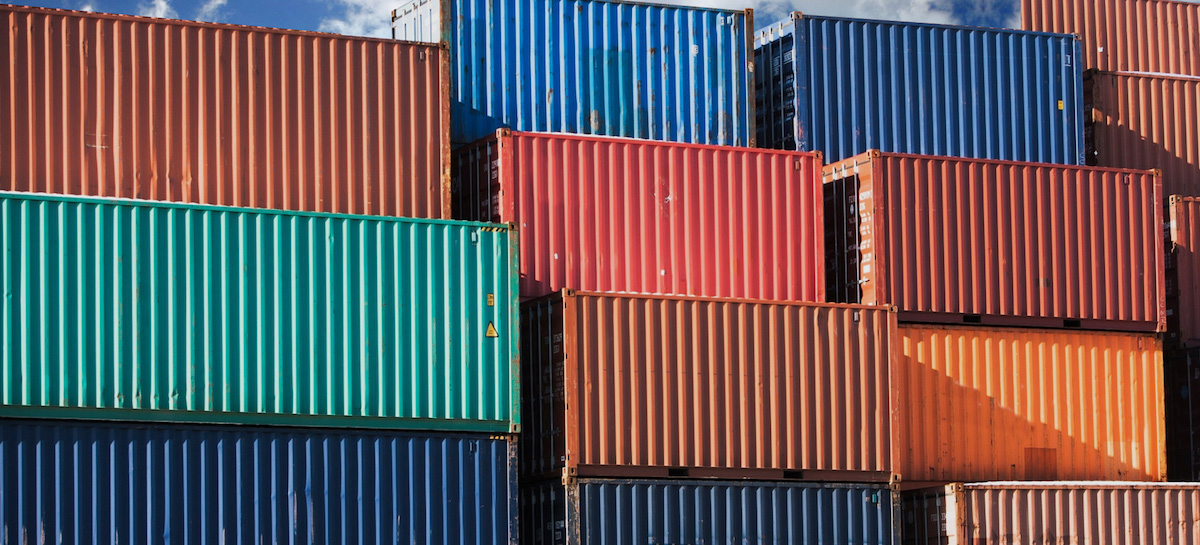 used shipping container costs